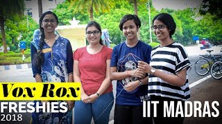 Download IIT Madras Freshies 2018 | Vox Rox Video