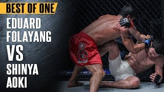 "Download ONE: Best Fights | Eduard Folayang vs. Shinya Aoki | ""The Landslide"" Shocked The World | Nov 2016 Video"