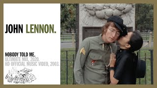 Download Nobody Told Me - John Lennon Video