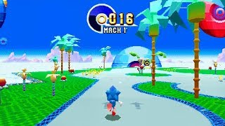 Download SONIC MANIA - Special Stages, Bonuses, and Time Attack Gameplay @ 1080p (60ᶠᵖˢ) HD ✔ Video