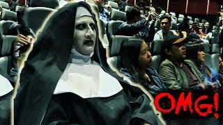 Download VALAK invades the cinemas! ″The Nun' advance screening in Manila, Philippines Video