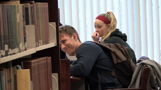 Download Accidentally Blasting Embarrassing Songs in the Library Prank (Part 2) Video