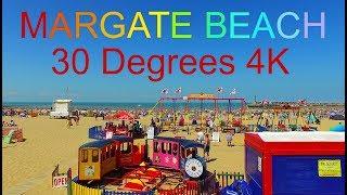 Download Margate Beach - 30 Degrees - 4K - DJI Osmo Video