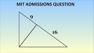 Download Can You Solve This MIT Admissions Question? Geometry Problem, 1869 Video