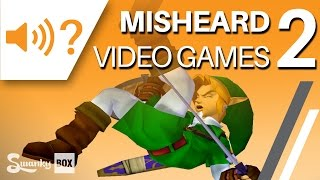Download Misheard Video Games 2 | SwankyBox Video