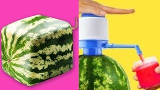 Download TRYING 15 UNBELIEVABLY EASY WATERMELON LIFE HACKS By 5 Minute Crafts Video