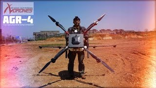 Download Introducing Giant Agricultural Crop Protection Spray Drone Video