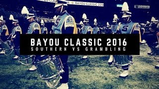 Download Southern & Grambling Marching Out of Bayou Classic 2016 [4K ULTRA HD] Video
