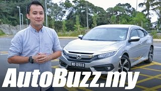 Download 2016 Honda Civic 1.5 Turbo Premium Review - AutoBuzz.my Video