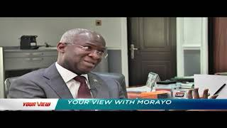 Download Fashola Speaks Exclusively With Morayo On Ambode, Sanwoolu, Power, Housing ... | Your View Video
