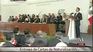 Download ″Es un gran momento para vivir en México″, dice Peña a naturalizados Video