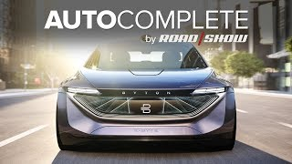 Download AutoComplete: Byton's K-Byte EV sedan concept is a stunner Video