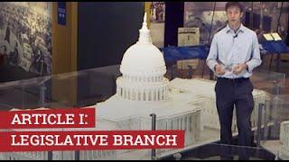 Download Article I: Legislative Branch Video