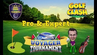Download Golf Clash tips, Playthrough, Hole 1-9 - PRO - TOURNAMENT WIND! Voyager Tournament! Video