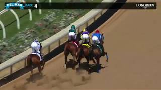 Download Catalina Cruiser Wins San Diego Handicap (Gr.II) Stakes Race 4 at Del Mar 07/20/19 Video