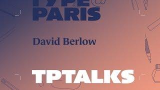 Download tptalks18: David Berlow | Adobe France Video