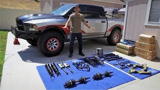 Download Complete Dodge Ram 1500 ICON Suspension Upgrade with RCV Performance Axles and Mevotech X Factor Video