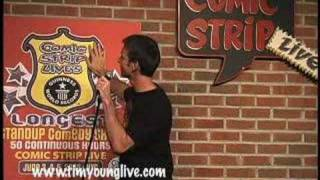 Download Tim Young: Deals with some strange hecklers Video