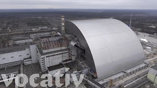 Download Destroyed Chernobyl Reactor Gets A New Cover Video