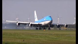 Download 40 beautiful landings! Plane spotting at Schiphol airport AMS (747, A340, 777, etc) Video