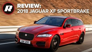 Download 2018 Jaguar XF Sportbrake: A station wagon for the sporty crowd Video