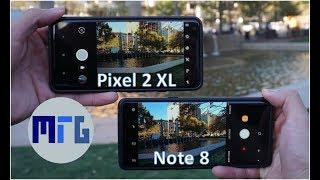 Download Google Pixel 2 XL vs Samsung Galaxy Note 8 Camera Comparison Video