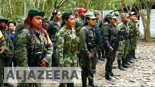 Download Colombia's FARC rebels begin disarming under peace deal Video