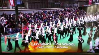 Download Cary High School Marching Band at 90th Macy's Thanksgiving Parade Video