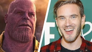 Download Blade and Sorcery #3 - Pewdiepie vs Thanos, WHO would WIN? (Vote) Video