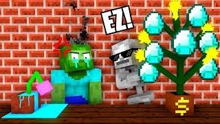 Download Monster School : Plants Challenge - Minecraft Animation Video