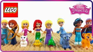 Download ♥ LEGO Disney Princess GREAT ADVENTURES (Rapunzel, Cinderella, Ariel, Frozen...) Video