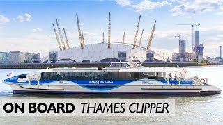 Download On Board ... A Thames Clipper Video