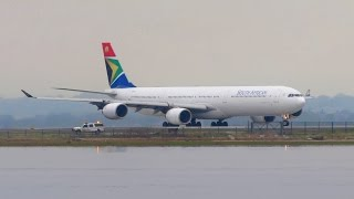 Download SOUTH AFRICAN Airbus A340-600 [ZS-SNI] Takeoff from New York JFK Airport [Full HD] Video