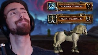 Download Asmongold Gets Exalted With Champions Of Azeroth And Proudmoore Admiralty And Buys New Mount! Video