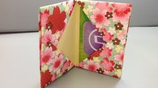 Download Origami Gift Card Holder for Back to School Shopping Video