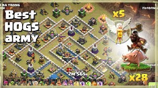 New Amazing' TH12 WAR BASE 2018 With 3 Replays Anti Bowler