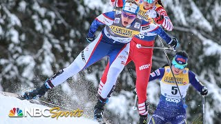 Download Olympic gold medalist Jessie Diggins wins FIS Cross-Country Skiing World Cup sprint | NBC Sports Video