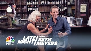 Download Seth and His Mom Go Day Drinking - Late Night with Seth Meyers Video
