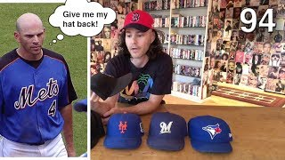 Download My hat collection - all 30 MLB teams, game-worn, and more! Video