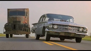 Download '41 Chevy truck terrorizes '60 Chevy Impala Video