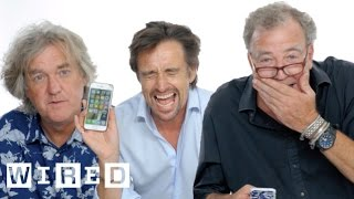 Download Jeremy Clarkson, Richard Hammond & James May Show Us the Last Thing on Their Phones | WIRED Video