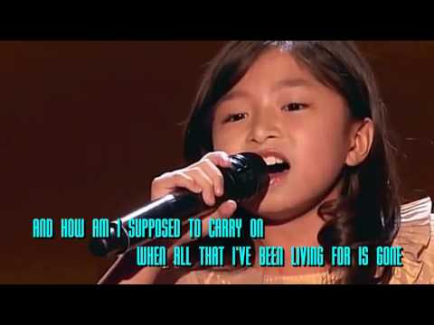 How Am I supposed to live without you-Celine Tam   GOLDEN BUZZER!