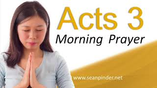 Download THERE IS POWER IN THE NAME OF JESUS - ACTS 3 - HEALING PRAYER - MORNING PRAYER Video