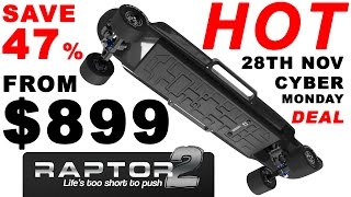 Download Raptor 2 Electric Skateboard | The HOTTEST Cyber Monday DEAL Video