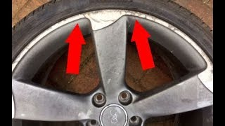 Download How to Repair Curb Rash on Alloy wheel rim Video