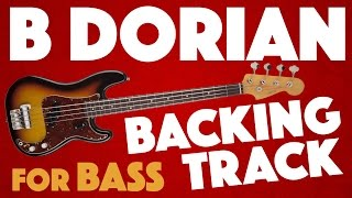 Download B Dorian Backing Track For Bass Video