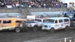 Download 2010 Walworth County Fair: International Demolition Derby Video