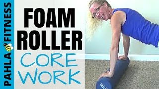 Download FOAM ROLLER Exercises for Your CORE | Beginner AB + GLUTE Workout Video
