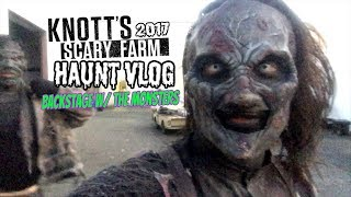 Download Knott's Scary Farm 2017 HAUNT VLOG: BACKSTAGE W/ THE MONSTERS Video