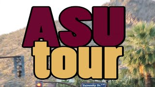Download ASU Tempe Campus and Dorm Tour Video